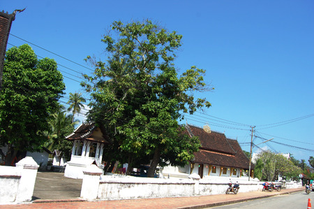 sop: Vat Sop Sickharam Temple in Luang Prabang City at Loas Lao People s Democratic Republic