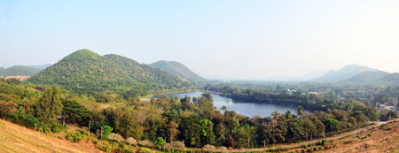 Kaeng Krachan Dam in Kaeng Krachan National Park at Phetchaburi Thailand photo
