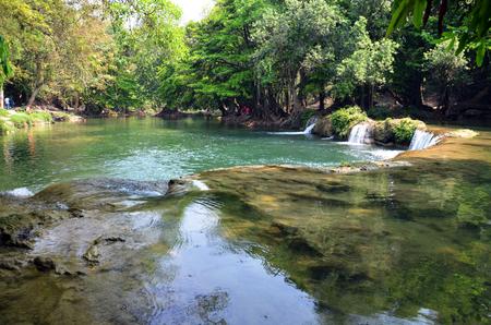 Num Tok Chet Sao Noi Waterfall in Saraburi, Thailand photo