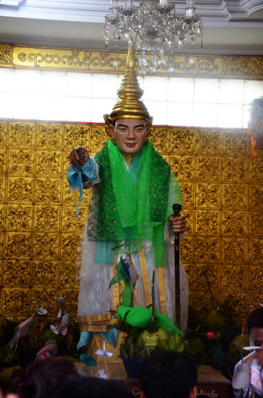 Rohani Bo Bo Gyi is believed to be the guardian spirit of Botahtaung Pagoda in yangon Myanmar and Thai people well know because  Bo Bo Gyi   people will come for ask live success