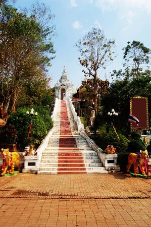 Wat Phra That Cho Hae in Phrae Province Thailand photo