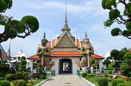 Wat Arun Ratchawararam Ratchawaramahawihan or Wat Arun is a Buddhist temple (wat) location at Chao Phraya Riverside in Bangkok, Thailand photo
