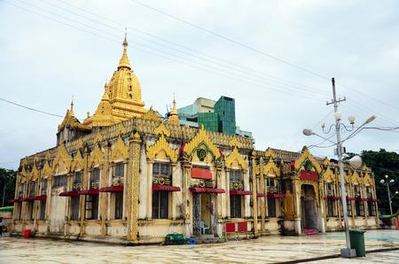 Church of Botahtaung Pagoda in yangon Myanmar