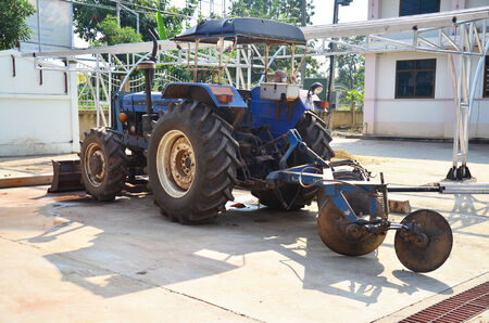 Equipment for equipment Tractor pushcart photo