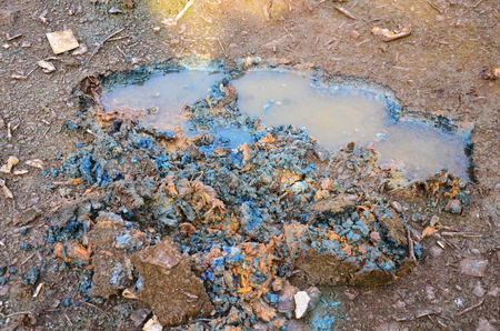 Effects Environmental from Chemicals and heavy metals in soil occur from Industrial Heavy metal release poisoning in soil from Industrial