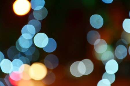 Colorful Bokeh photo