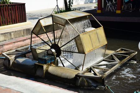 water turbine: Water turbine Machine Thai Style