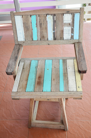 Vintage Wood furniture photo
