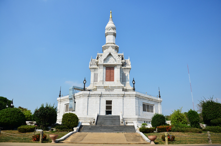 thani: Wat Pa Purithat Pathitaram in Pathum Thani Thailand Stock Photo