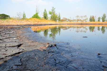 Effects Environmental from Water contaminated with Chemicals and oil and This wastewater occur from disposal of Industrial waste and old oil to natural water sources of illicit.