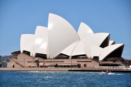 australian ethnicity: Sydney Opera House is a multi-venue performing arts centre at Sydney on January 24, 2015 in New South Wales, Australia.