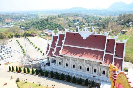 pla: Wat Huay Pla Kang Temple in Chiangrai, Thailand.