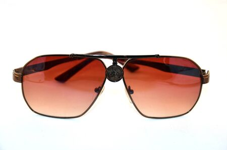 Sunglasses on white photo