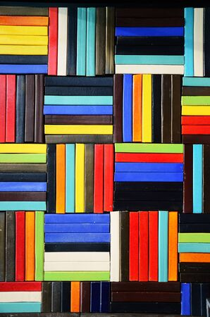 Colourful Wall Background photo