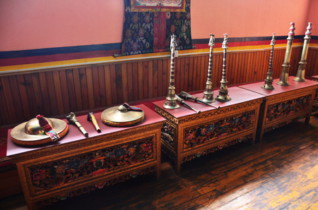 Instruments musical Tibetan style