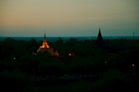 bagan: Pagoda in Bagan Archaeological Zone at Bagan Myanmar
