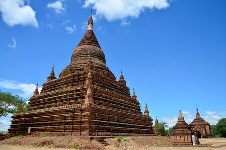 pagan: Ancient City in Bagan Pagan, Myanmar with over 2000 Pagodas and Temples.