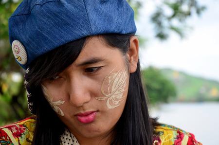 scowl: Thai women scowl and women look displeased