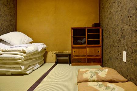 Japan bedroom and sleeping set old style 写真素材