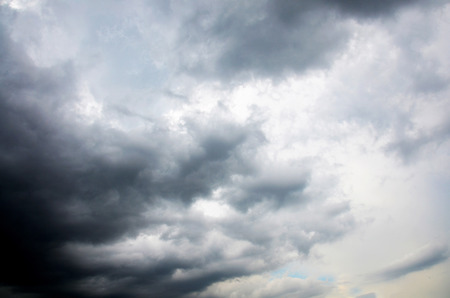 stormy clouds: Stormy Clouds and Sky Background Stock Photo