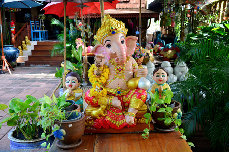 hindu god: Ganesha or Ganesh figure : Lord of Success (The Hindu Elephant-Deity)