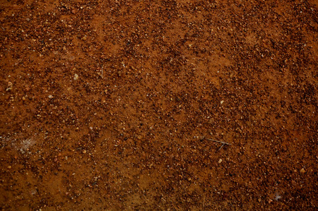 soil: Land and pebble background location at Phrae, Thailand Stock Photo