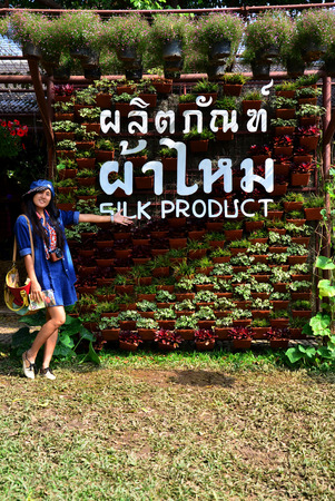 jim: People travel and portrait at Jim Thompson Farm on December 30, 2013 in Nakhon Ratchasima, Thailand