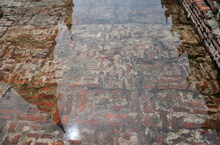 chaimongkol: Reflection chedi of Wat Yai chaimongkol in Ayutthaya, Thailand