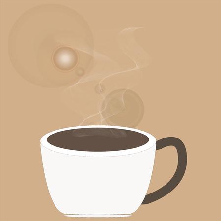 cappucino: Art design hot coffee