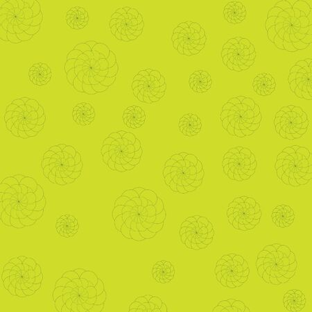 Yellow and flower background