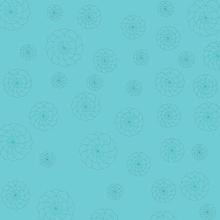 Art design blue and flower background