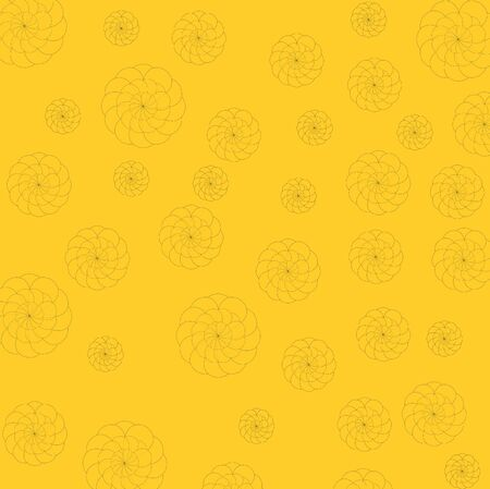 Art design yellow and flower background