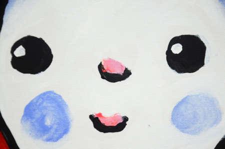 catoon: Face of cartoon art design