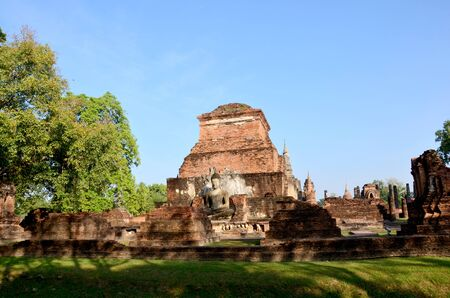 associated: View of Historic Town of Sukhothai and Associated Historic Towns at Sukhothai, Thailand