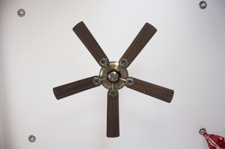 fan ceiling: Classic ceiling fan decoration interior inside room