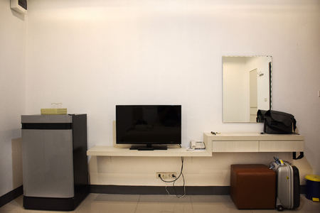 Decoration furniture and interior design of resort apartment for thai people and foreigner travelers rent and rest at Udonthani city in Udon Thani, Thailand