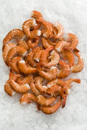 shrimp cocktail: Cooked prawns