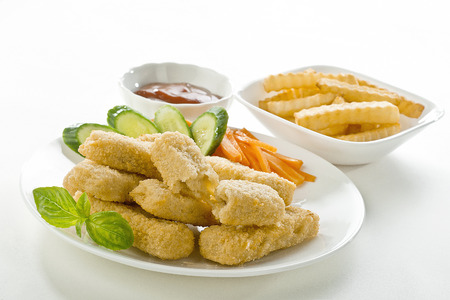 dipping: Fish fingers