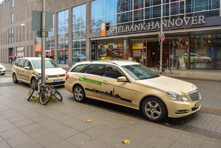 Hannover. Germany. 20 nov 2017. The streets of Hannover Spielbank Hannover office Editorial
