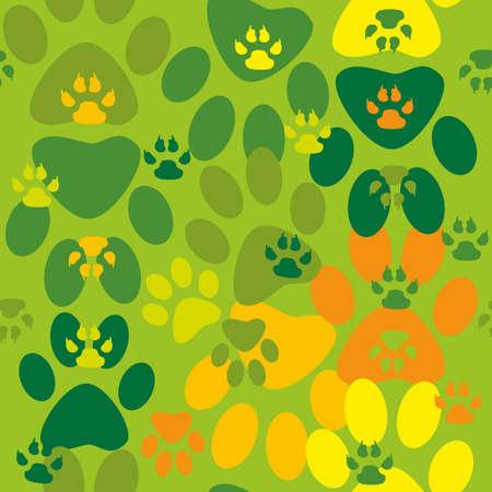 animal track seamless