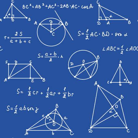 quadratic: blu geometria perfetta