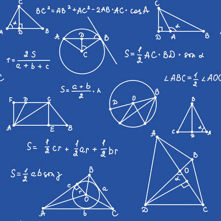 blue geometry seamless Vettoriali
