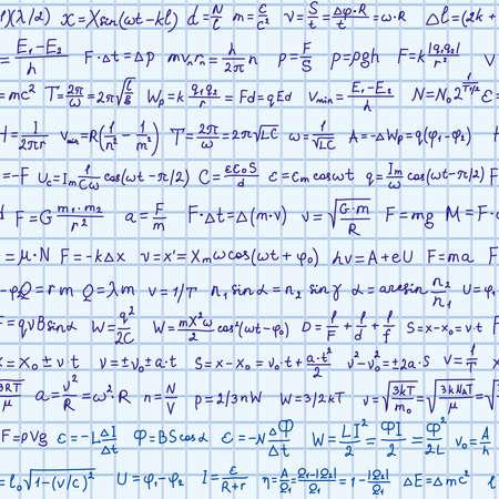 physics formula seamless