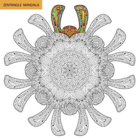 Mandala - Libro De Colorear Para Los Adultos, Relax Y La Meditación ...