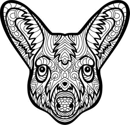 Zendoodle Diseño De Saltar Canguro Para El Elemento De Diseño Y ...