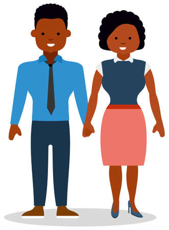 Girl and guy hold each others hands.