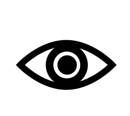Eye icon. Eye icon sign.Vector illustration of a icon design. Banco de Imagens - 128730153