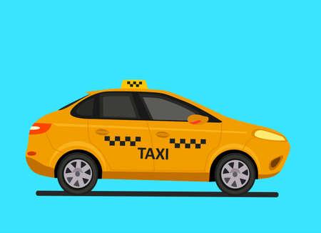 Taxi car.Taxi service public isolated vector illustration design.