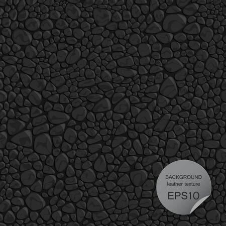 Nahtlose Hintergrund Leder Textur. Vektor-Illustration EPS10. Vektorgrafik