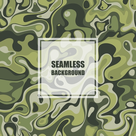 fatigues: Abstract seamless pattern. Vector Illustration with spot elements EPS10.
